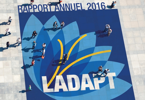 couverture du rapport annuel 2016