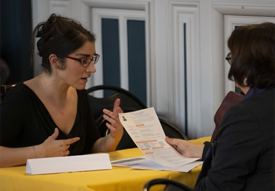 2 femmes en entretien de recrutement