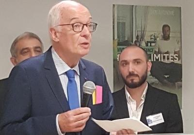 Monsieur Emmanuel Constans président de LADAPT