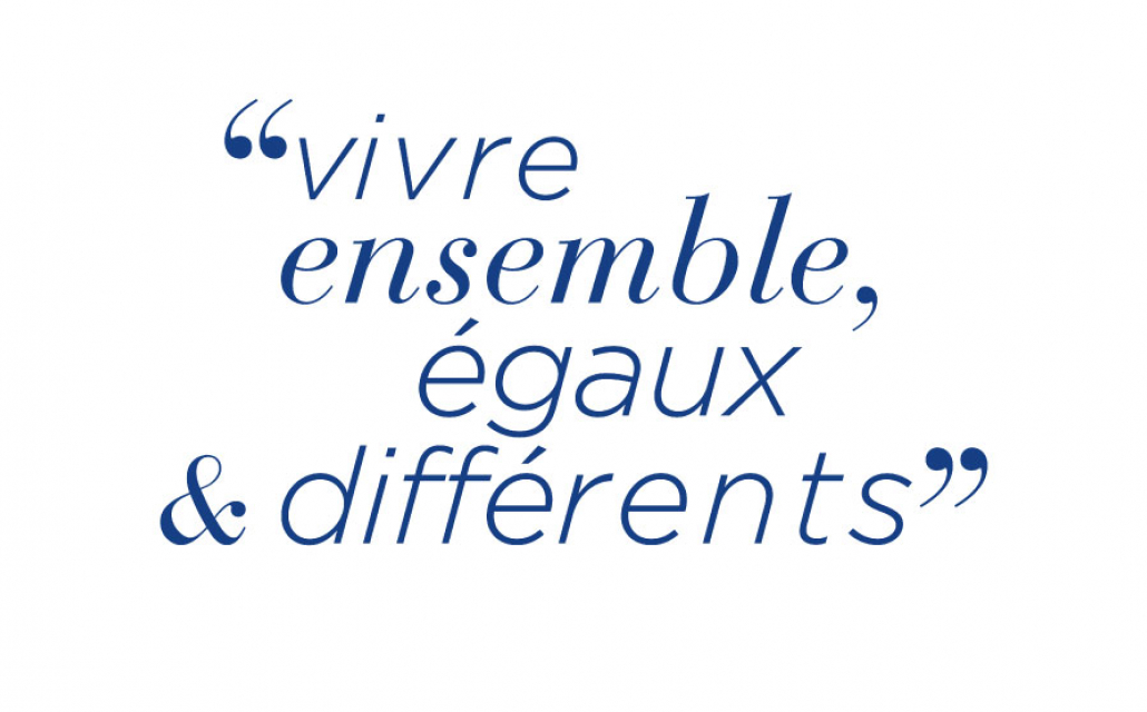 Vivre ensemble, égaux et différents