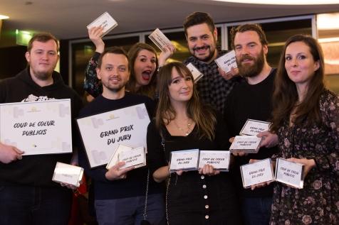 Lauréats du Hackathon
