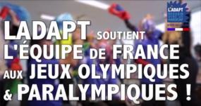 image de la video ladapt soutient l'équipe de france aux jeux olympiques et paralympiques