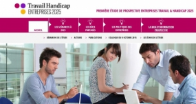 visuel de la page d'accueil du site travail handicap 2025