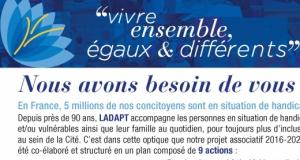 image du bulletin de soutien de LADAPT