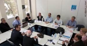 Photo des membres du comité de coordination du réseau des réussites en réunion