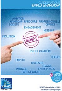 Couverture Guide emploi handicap 2016 2017
